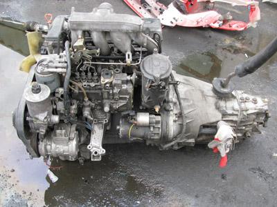 контрактный двигатель на мерседес из японии